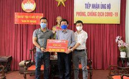 Công ty cổ phần Cầu Đường Đà Nẵng - Chia sẽ ủng hộ công tác phòng chống dịch Covid